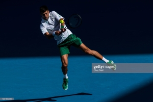 nole aussie open day 5 2020