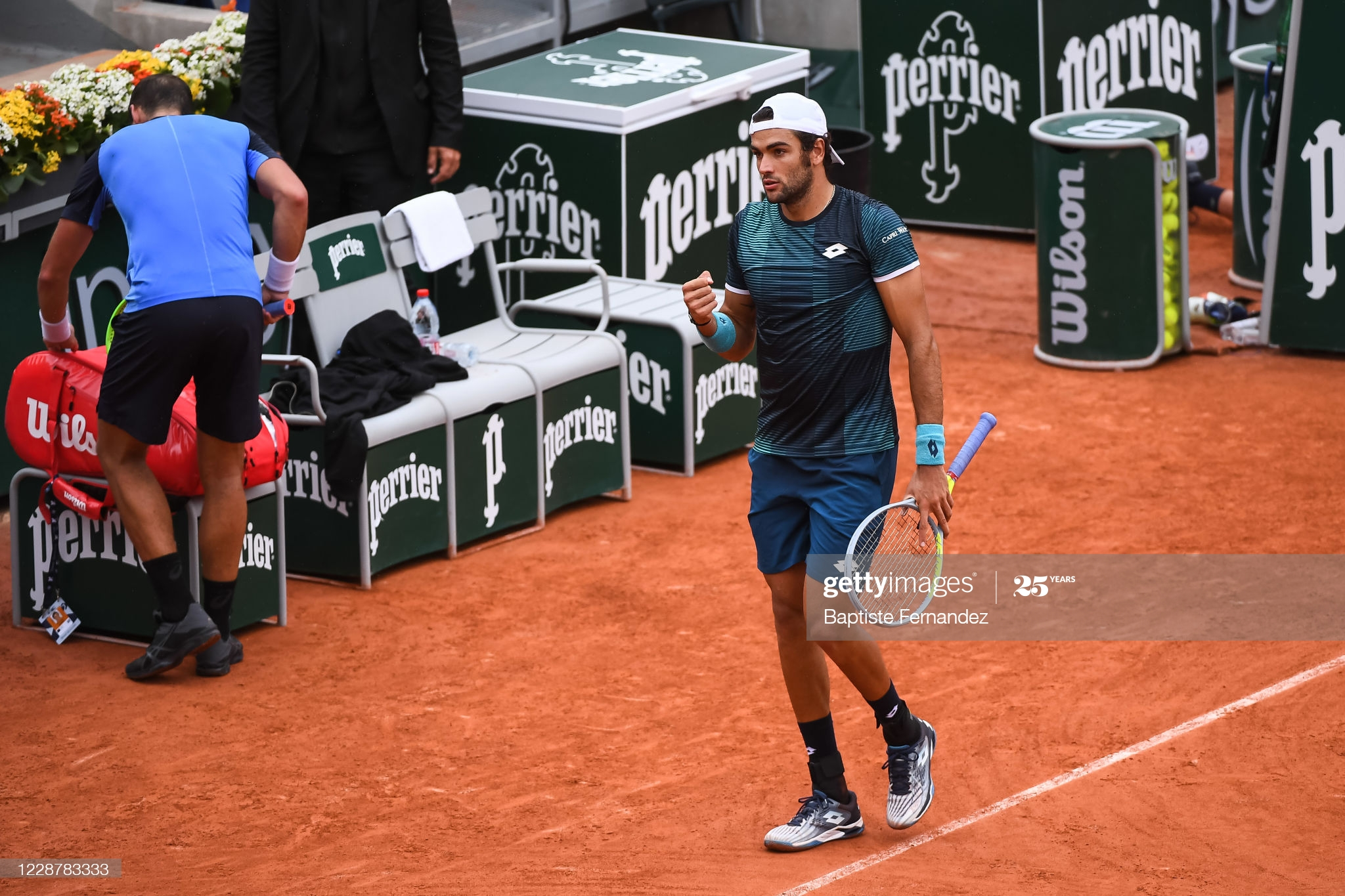 berrettini day 3 french open 2020