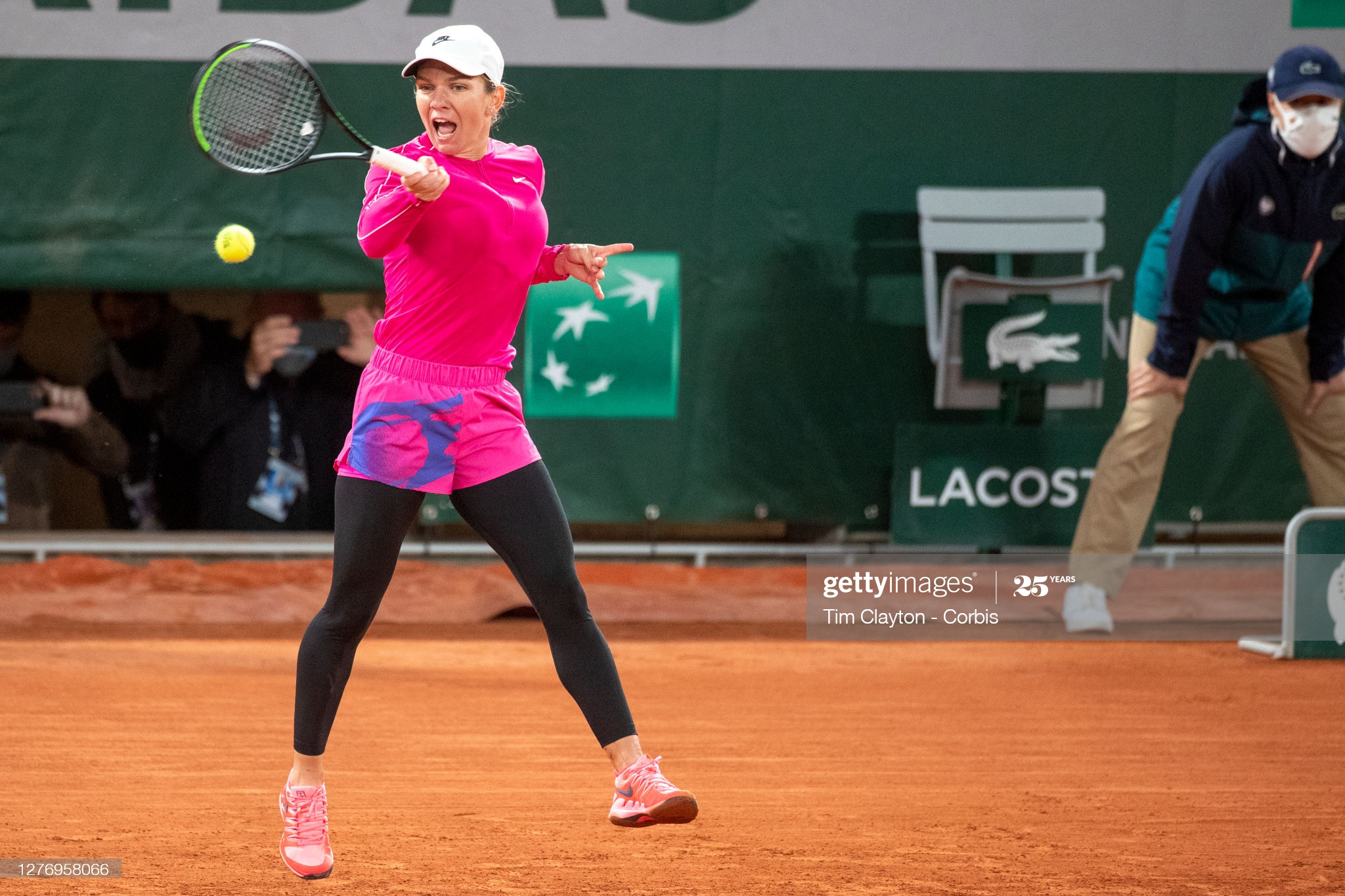 halep day one french open 2020