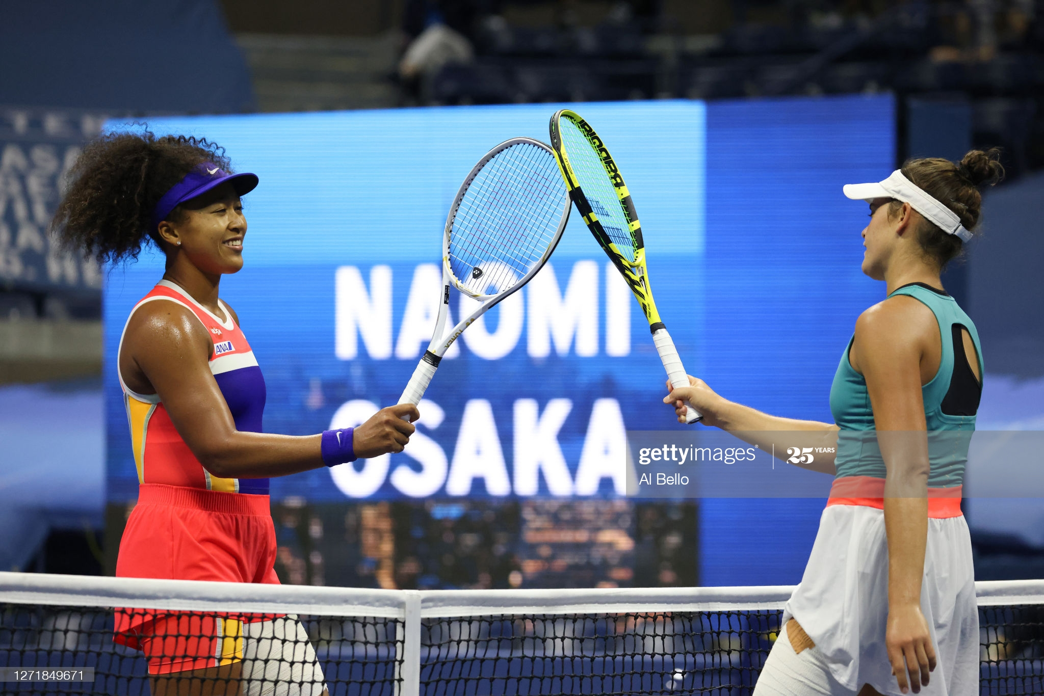 osaka brady day 11 us open 2020