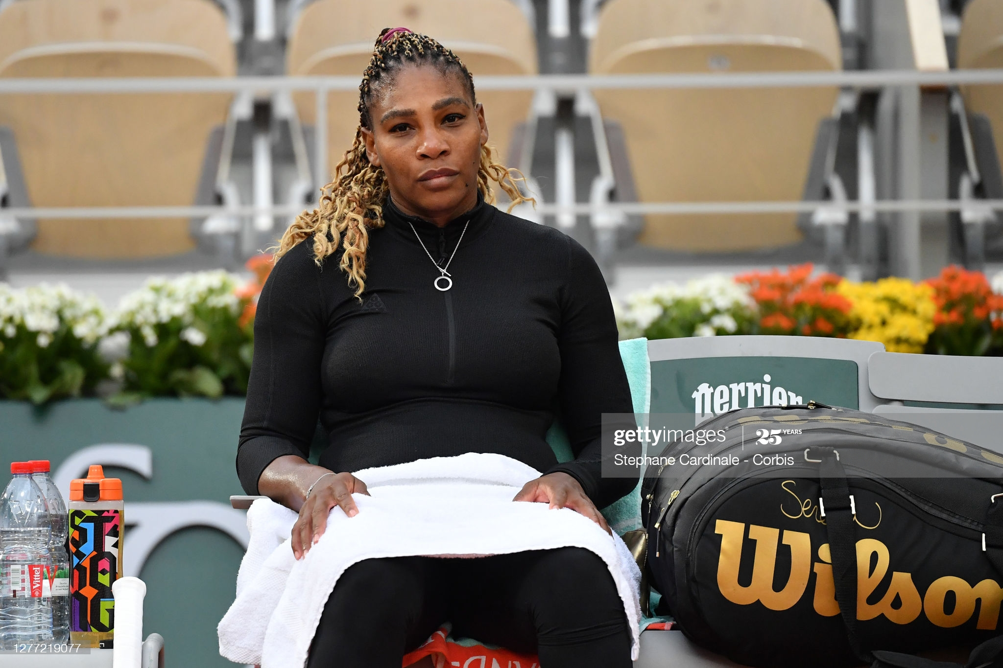 serena day two french open 2020