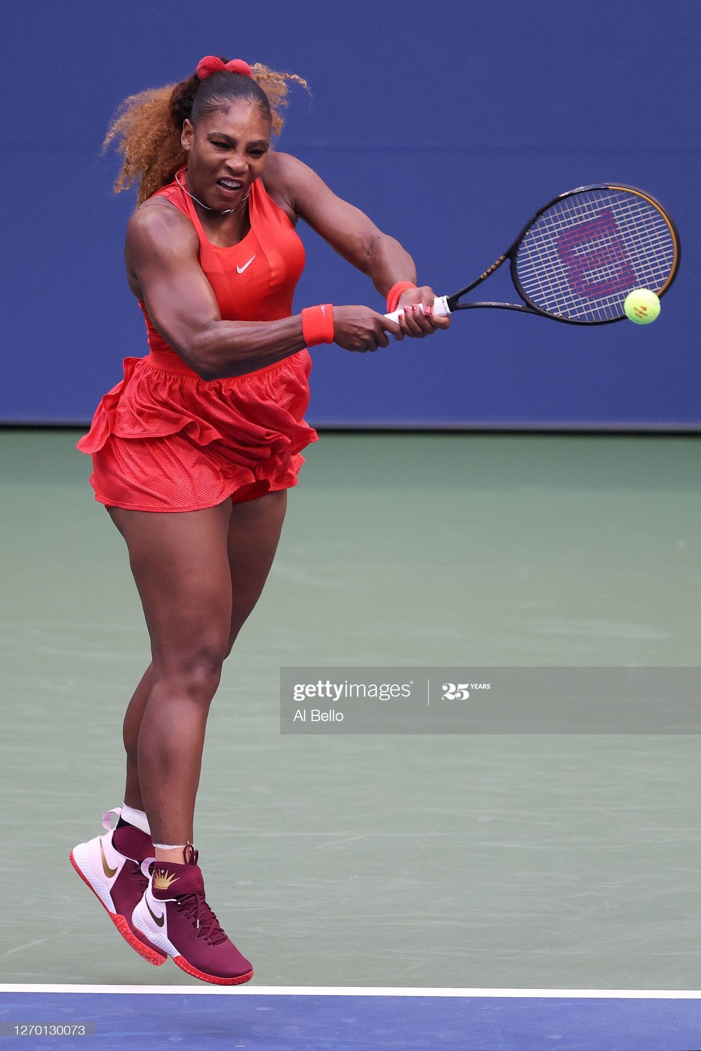 serena day two us open 2020