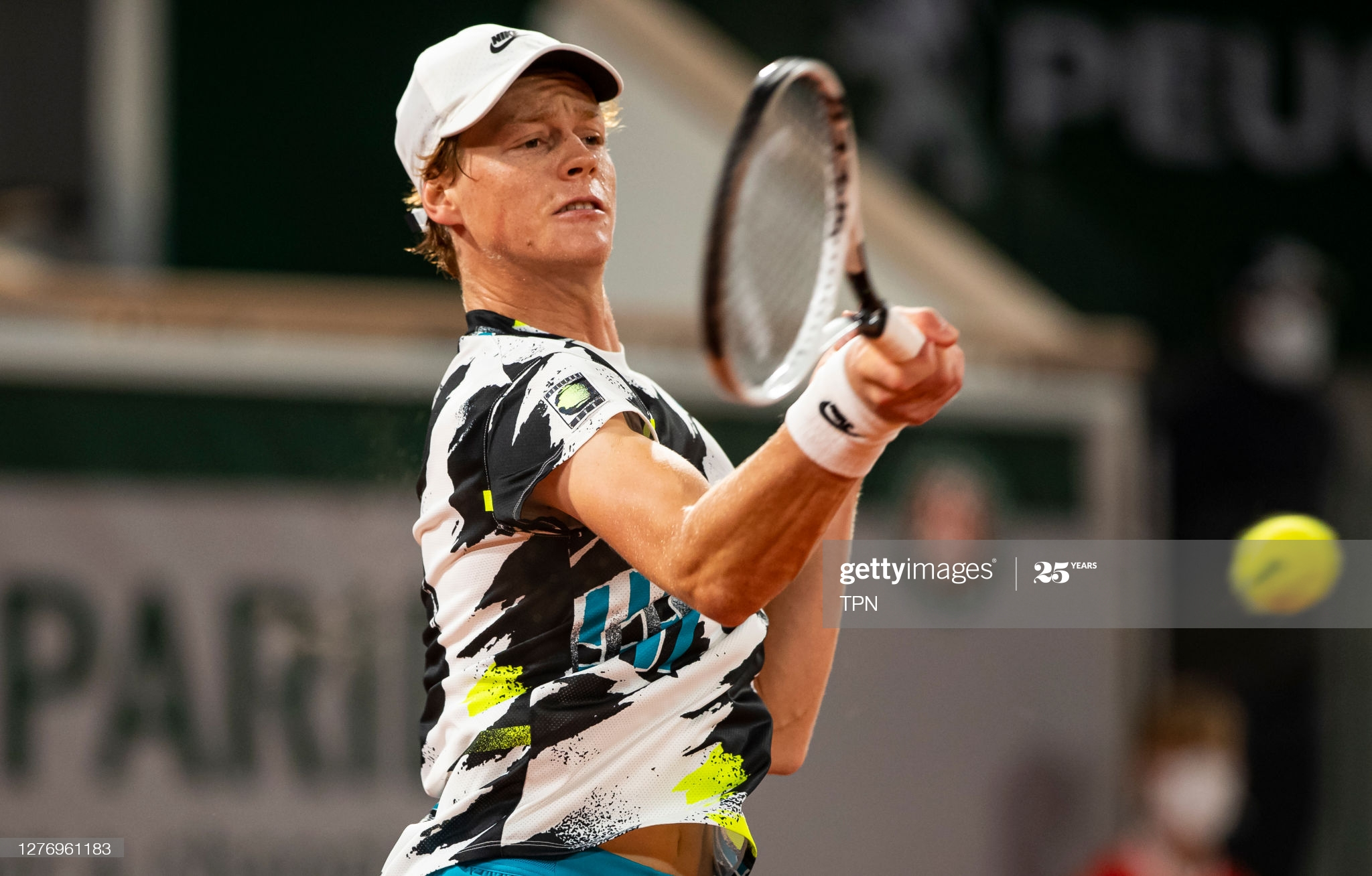 sinner day one french open 2020