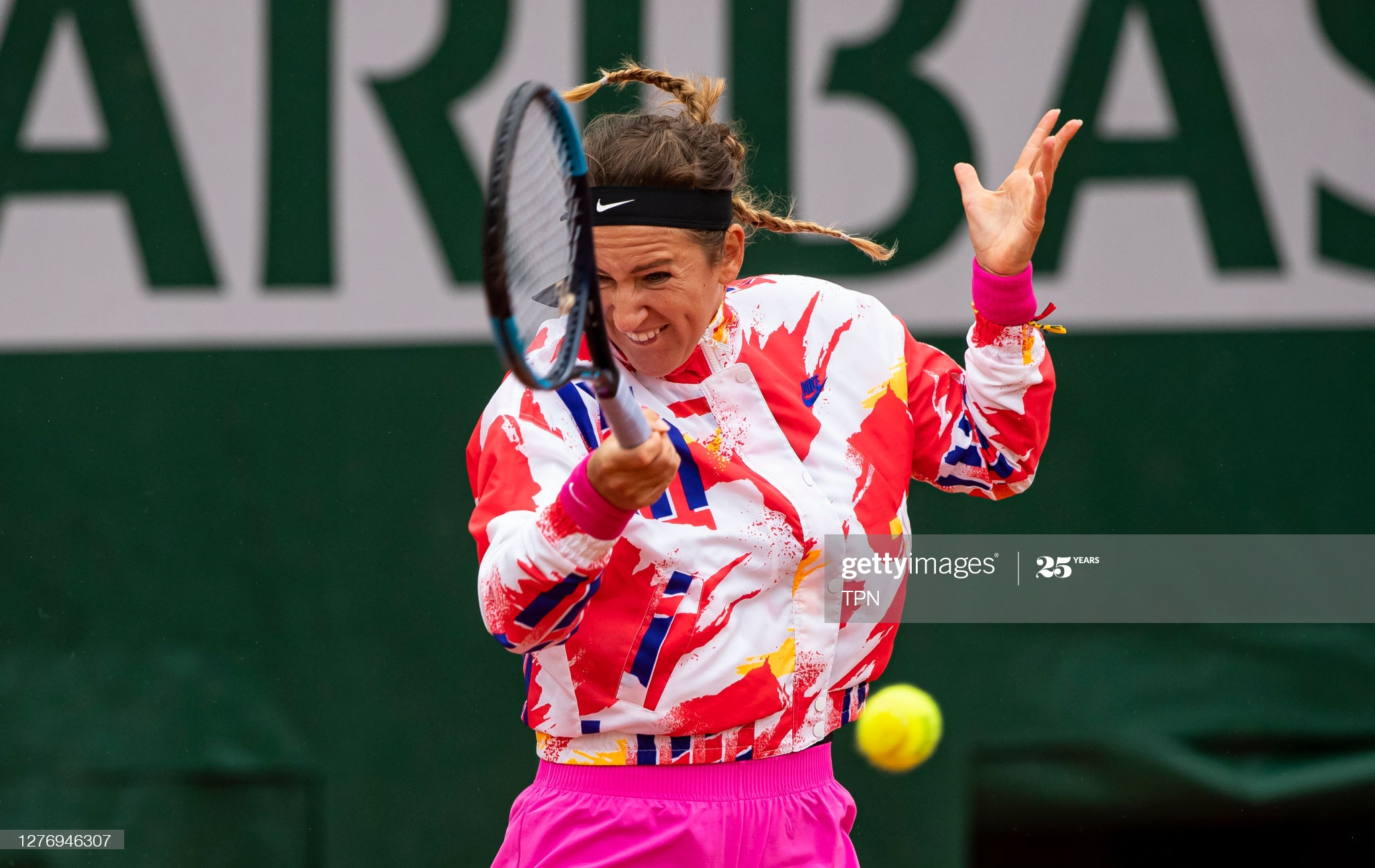 vika day one french open 2020