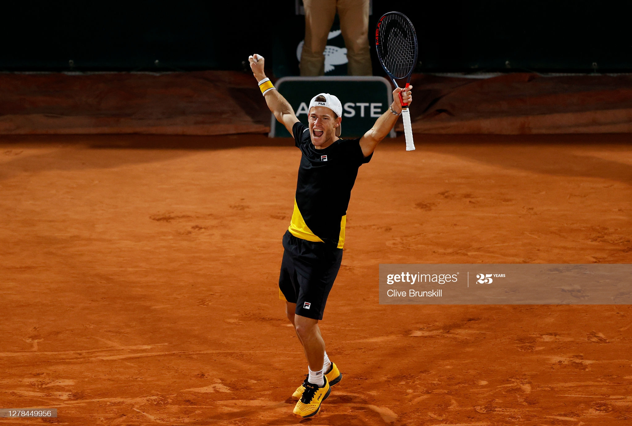 diego schwartzman day 8 french open 2020