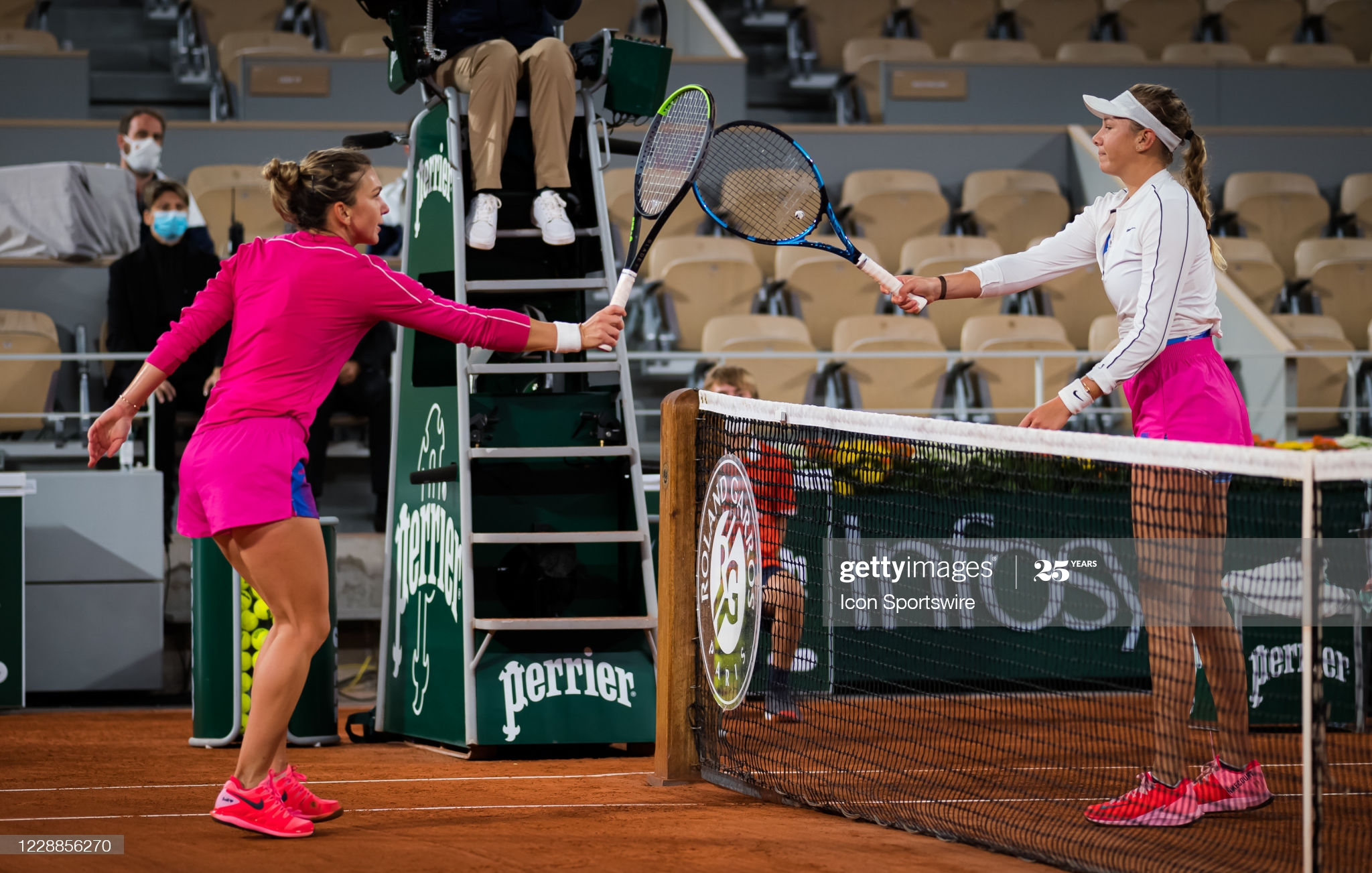 halep and anisimova day 6 french open 2020