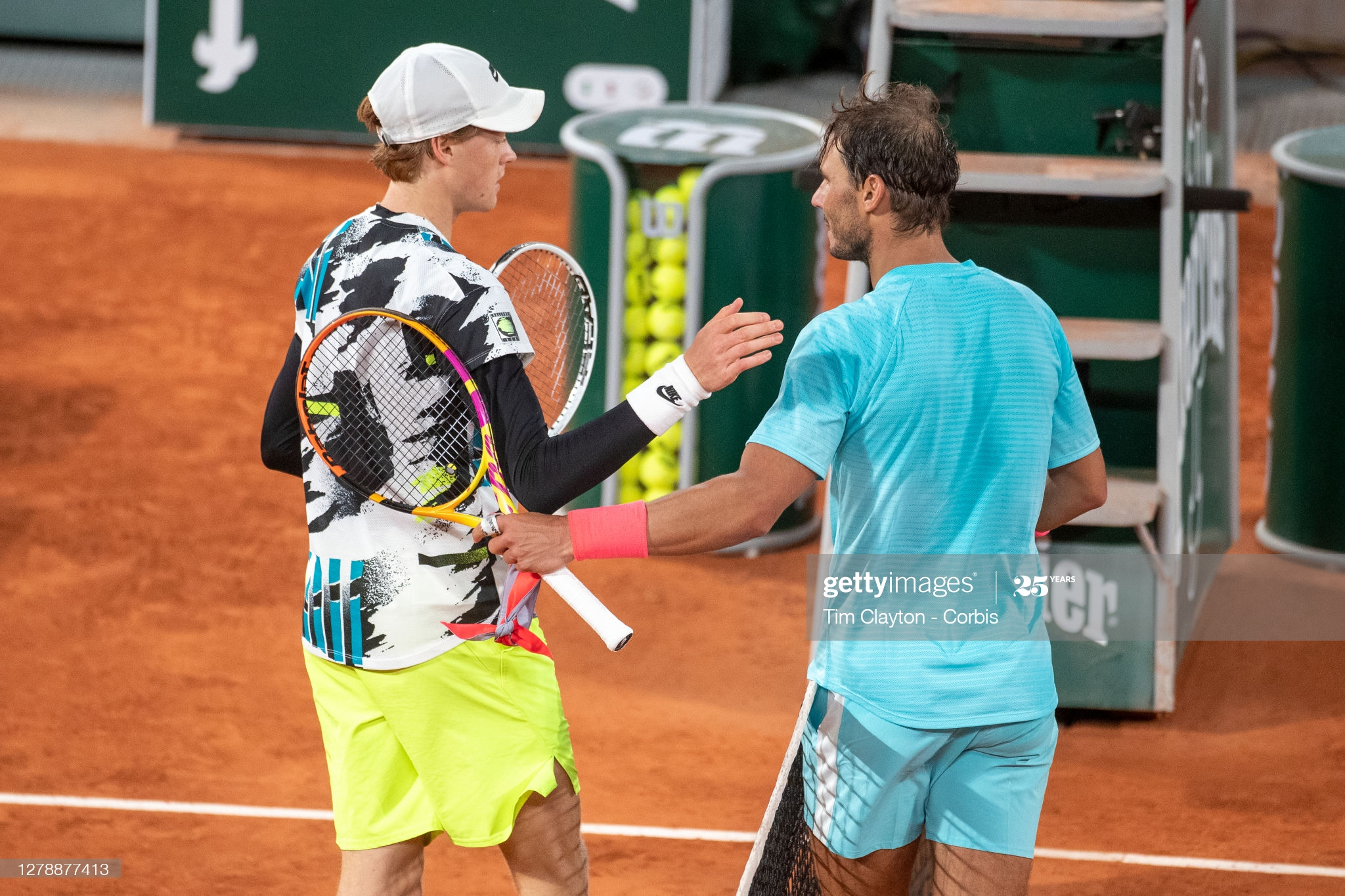 nadal sinner day 10 french open 2020