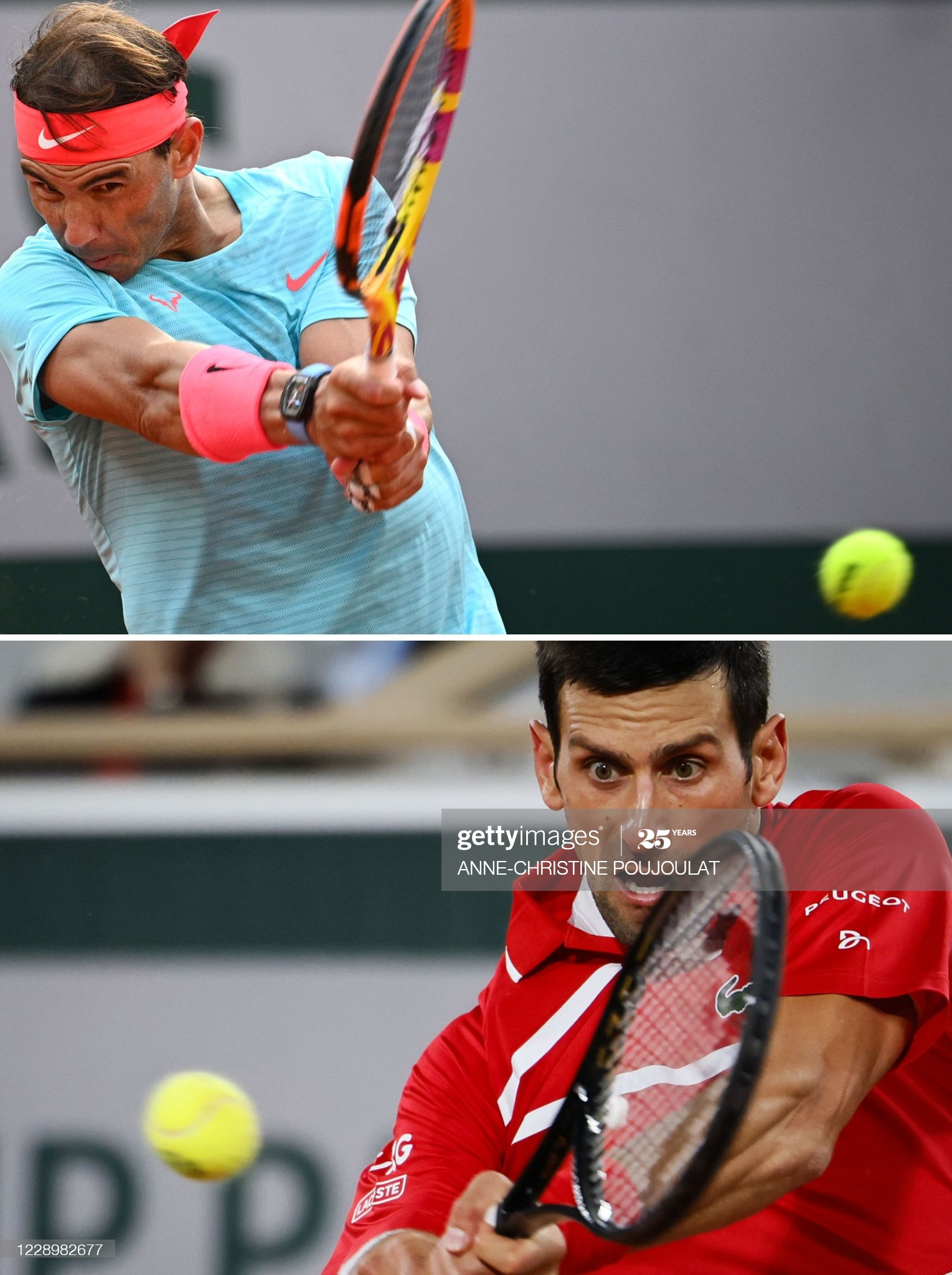 rafa and nole day 13 french open 2020.12