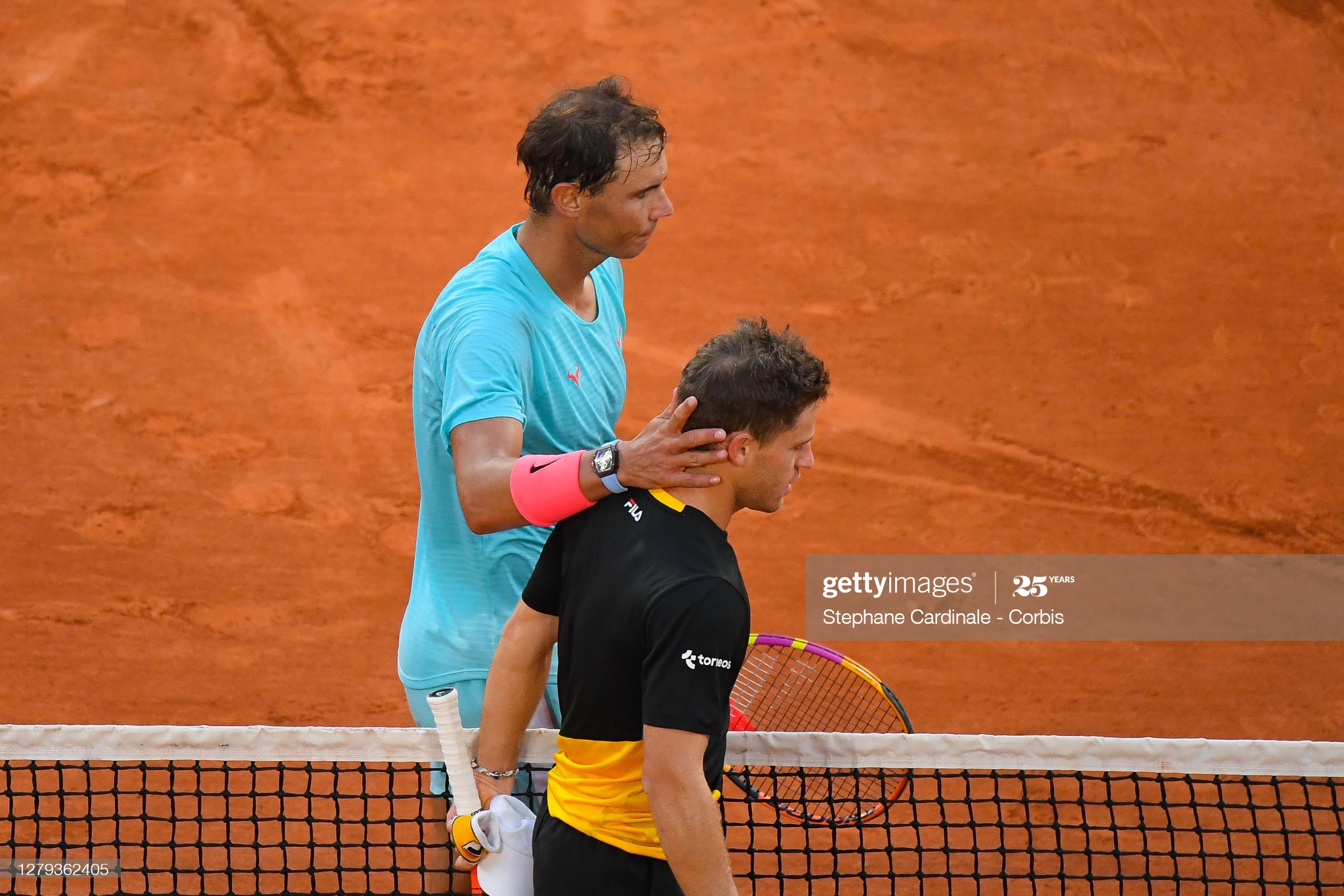 rafa and schwartzman french open 2020
