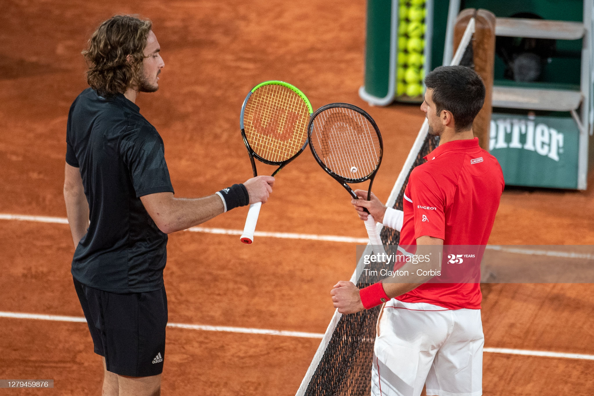 stefanos and nole french open day 13 2020