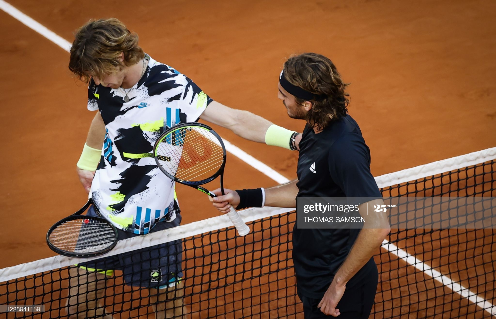 tsitsipas rublev day 11 french open 2020
